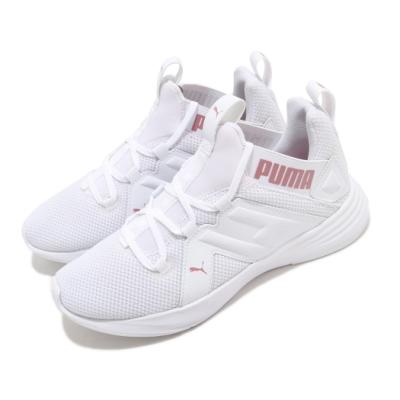 Puma 慢跑鞋 Contempt Demi 運動 女鞋 襪套 輕量 透氣 舒適 避震 球鞋 白 粉 19316207