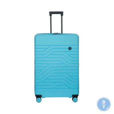 BRICS 義大利 BY Ulisse 31吋 淺藍 可擴充拉鍊拉桿箱 USB充電孔
