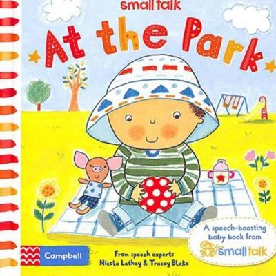 Small Talk:At The Park 寶寶去公園玩硬頁書