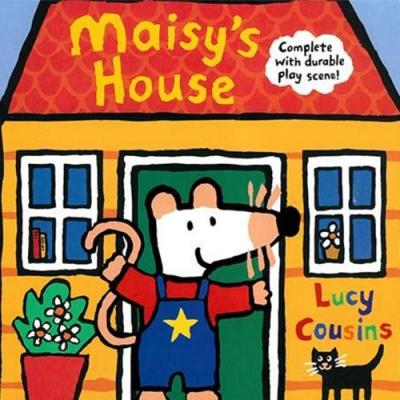 Maisy s House 小鼠波波的家硬頁書(美國版)