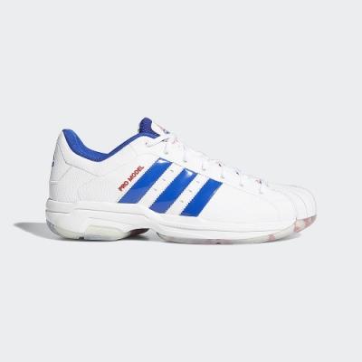 ADIDAS Pro Model 2G Low 男籃球鞋-白-FZ1393