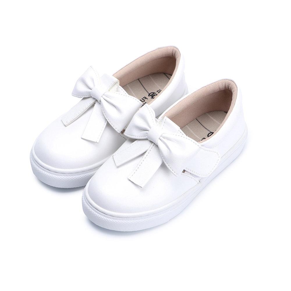 BuyGlasses 蜜糖甜心兒童懶人鞋-白