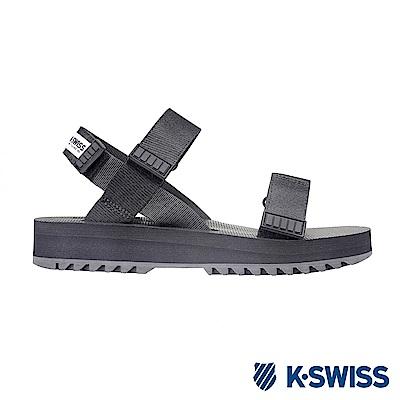 K-SWISS Pier時尚涼鞋-男女-黑