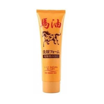 日本 純藥 馬油洗面乳