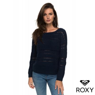 【ROXY】DREAM BELIEVER 針織衫 海軍藍
