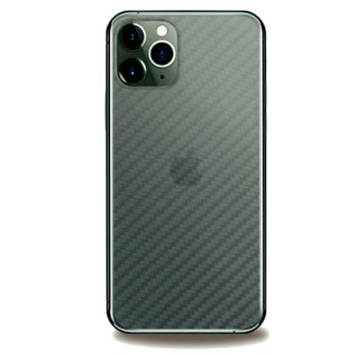 御殼坊 Apple iPhone11 Pro Max (6.5吋)背貼(碳纖紋)超值2片入