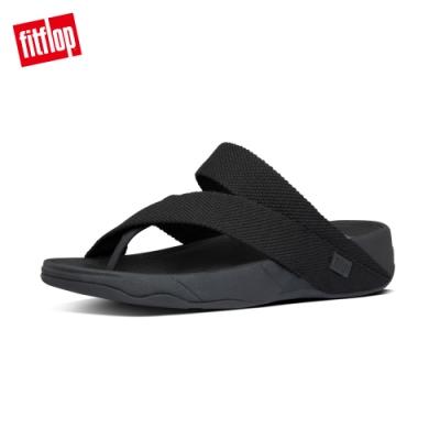 FitFlop SLING WEAVE TOE-THONGS 織帶夾腳涼鞋-男(黑色)