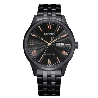 CITIZEN 星辰Mechanical簡約質感機械腕錶NH7505-84E
