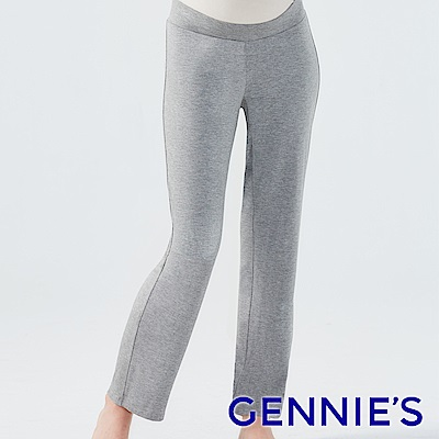 Gennies奇妮-慵懶甜美寬褲-(TPA31-深灰)