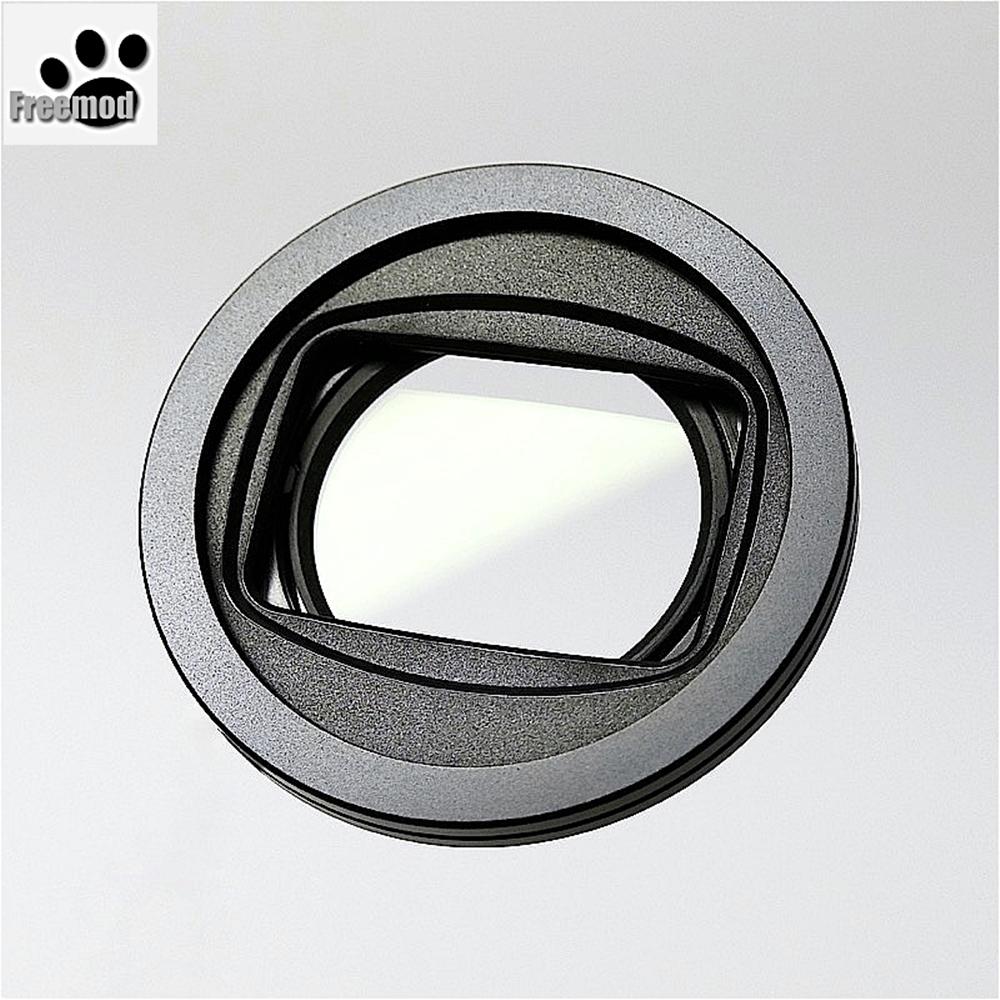 台灣製造Freemod半自動鏡頭蓋 半自動蓋X-CAP2含STC保護鏡(口徑:37mm鏡頭蓋)Black黑色