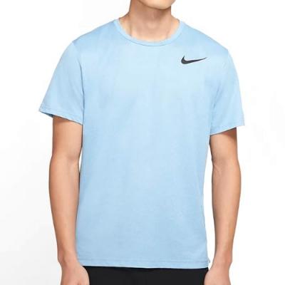 NIKE 短袖上衣 男款 休閒 運動 藍 CJ4612446 AS M NK TOP SS HPR DRY