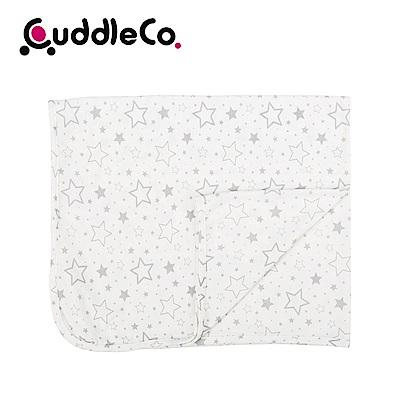 英國CuddleCo 竹纖維寶寶四季毯90x70cm-米白星星
