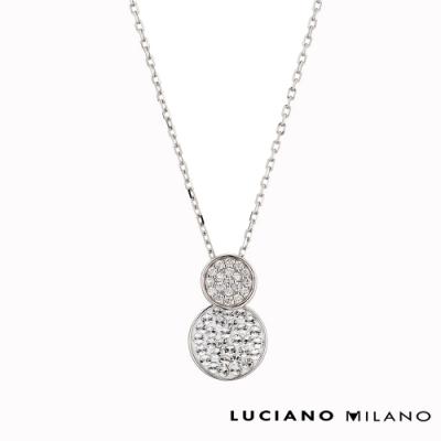 LUCIANO MILANO 邱比特之箭-魔力奇蹟純銀閃亮墬飾(贈基本鍊)
