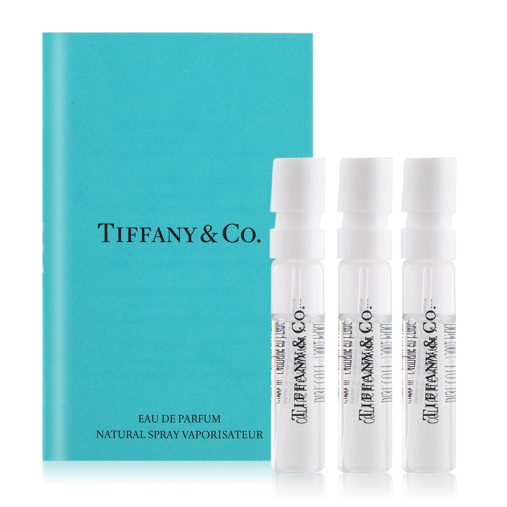 Tiffany & co. 同名淡香精針管1.2mlX3