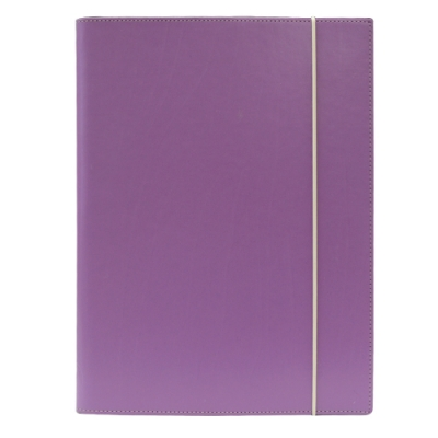 Filofax  Domino 束帶式A4文件夾-薰衣草紫