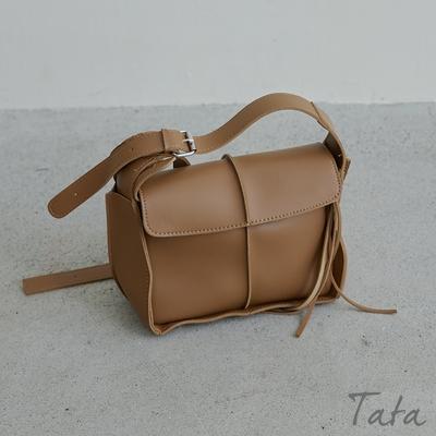 皮革大容量肩背包 TATA