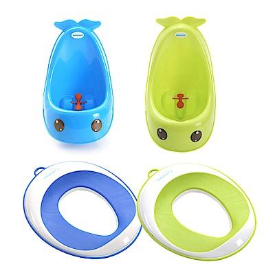 babyhood 寶寶如廁學習組 含小便斗 輔助便座各1入