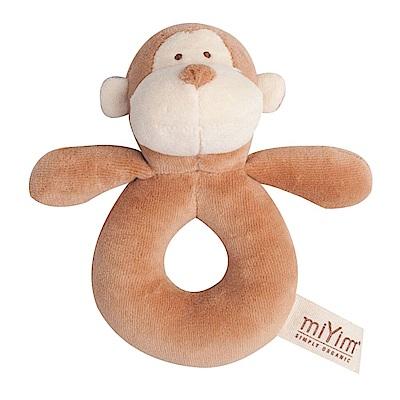 miYim有機棉手搖鈴-布布小猴