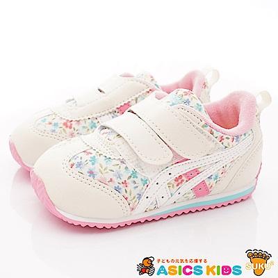 亞瑟士SUKU2機能鞋 經典護足款 BON67-700白花(小童段)