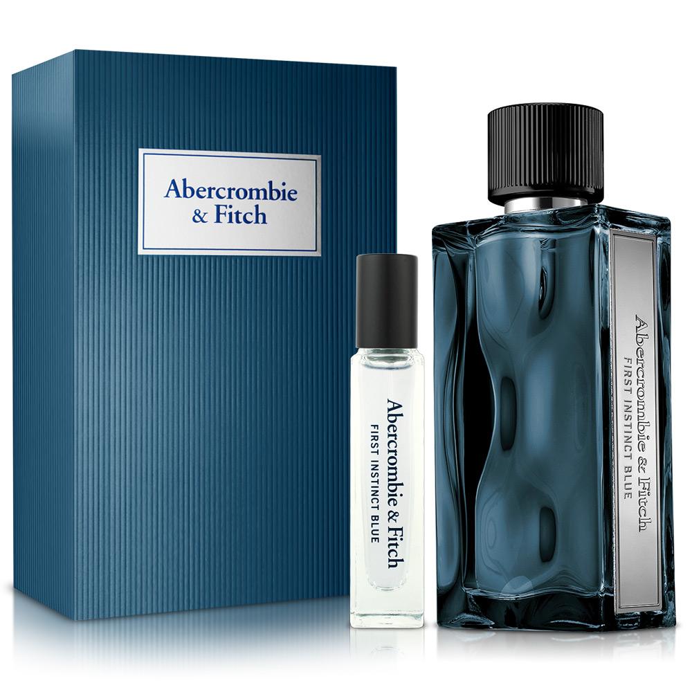 Abercrombie & Fitch 湛藍男性淡香水禮盒-送品牌針管+紙袋