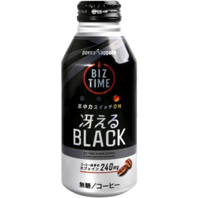 Pokka sappo BIZ TIME 咖啡 - Black (400ml)