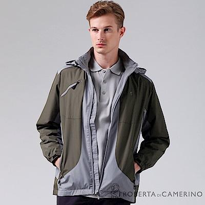 ROBERTA諾貝達 嚴選穿搭 禦寒必備 內刷毛夾克外套 暗綠
