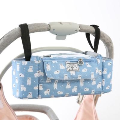 嬰兒推車收納掛袋 整理背袋 外出置物袋 多功能媽媽包