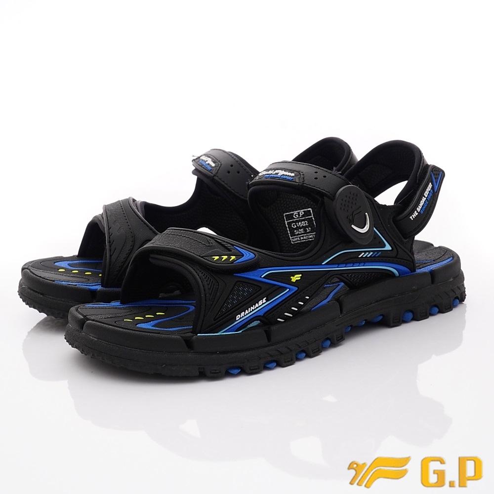 GP時尚涼拖 磁扣排水涼鞋款-ON682-23寶藍(男段)