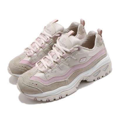 Skechers 休閒鞋 Energy Ocean Tide 女鞋 老爹鞋 避震 修飾腿型 灰 粉 13414TPLV