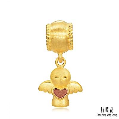 點睛品 Charme 守護天使轉運珠 黃金串珠