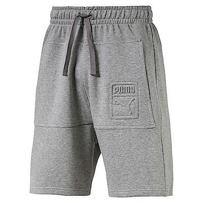 PUMA-男性流行系列時尚百慕達短褲-中麻灰-歐規