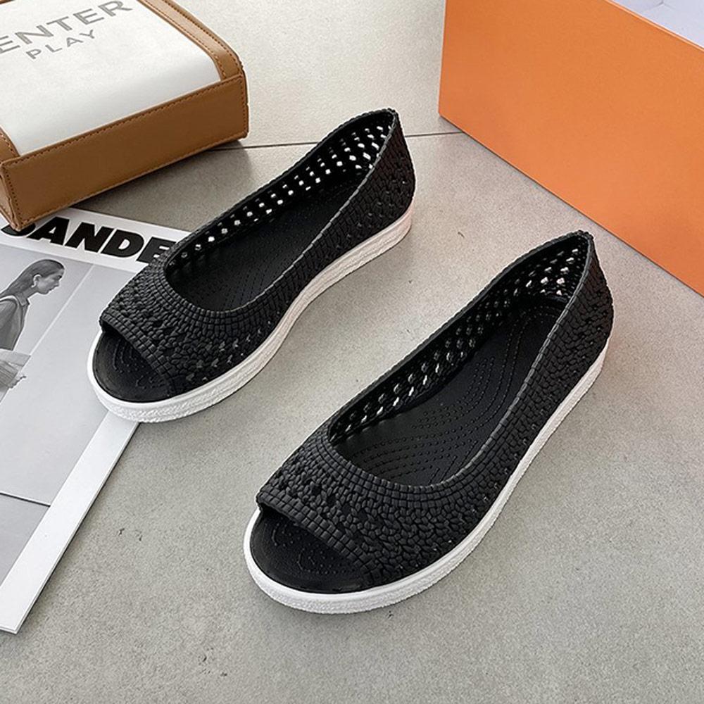 KEITH-WILL時尚鞋館-獨賣俐落美感涼鞋(涼鞋/涼跟鞋)(共3色) (黑色)