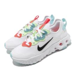 Nike 休閒鞋 React Art3Mis 運動 女鞋 輕量 透氣 舒適 簡約 球鞋 穿搭 白 藍 CN8203101