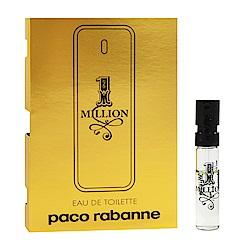Paco Rabanne 百萬男性淡香水 針管小香 1.5ml