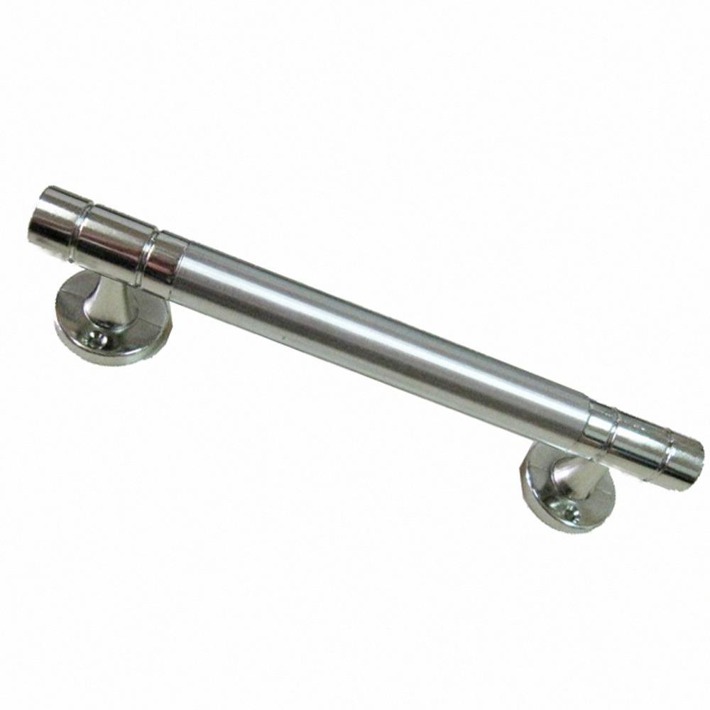 3216 白鐵把手 6分X250mm平頭白鐵色銀色304不銹鋼把手取手握把適用大門房門落地