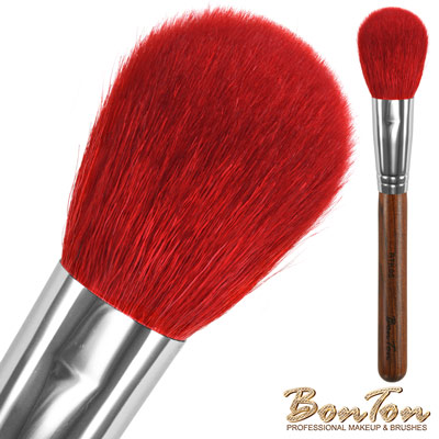 BonTon 原木系列 扁腮紅刷(大) RTK05 特級尖鋒羊毛