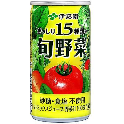 伊藤園 旬採野菜汁(190ml)