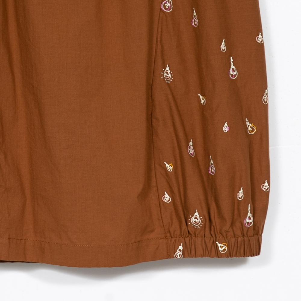 gozo-經典燈泡繡花燈籠裙(兩色) product image 1