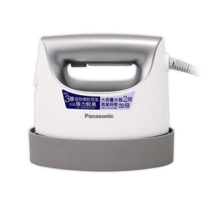 Panasonic國際牌平燙/掛燙2合1蒸氣電熨斗(珠光銀)NI-FS750-L