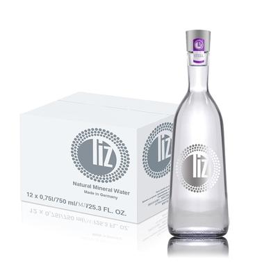 Liz麗湜 德國天然原生礦泉水750ml-玻璃瓶 (12入箱購)