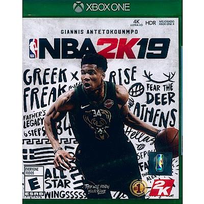 勁爆美國職籃 2K19 NBA 2K19 - XBOX ONE 中英文美版 (LATAM)