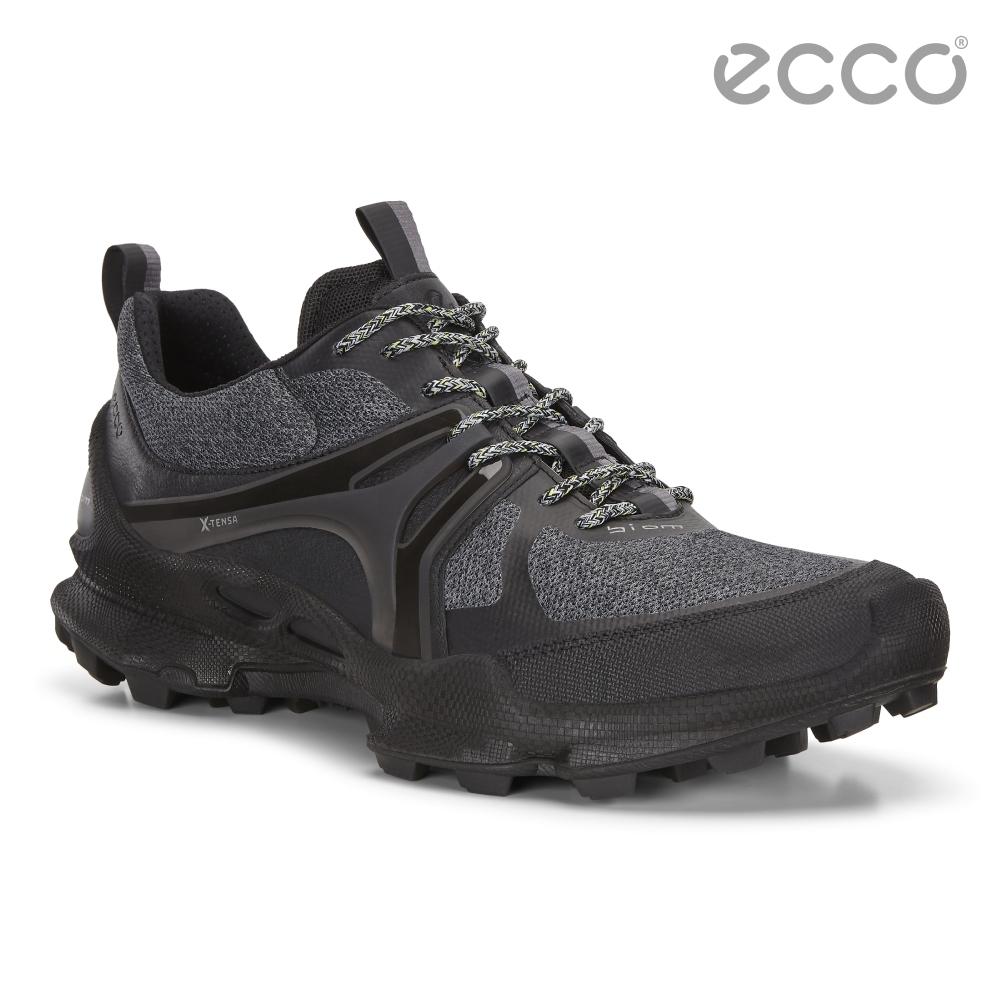 ECCO BIOM C-TRAIL M 縱橫越野健步運動鞋 男-黑