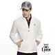 【Lynx Golf】男款防潑水3M反光設計長袖薄外套-牙白色 product thumbnail 2