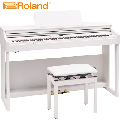 ROLAND RP701 WH 88鍵數位電鋼琴 典雅白色款
