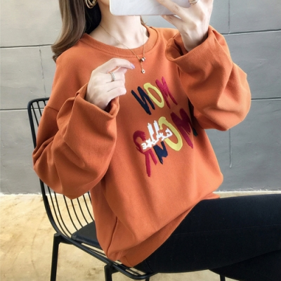 NUMI  潮流文字大學T恤-共3色-(M-2XL可選)
