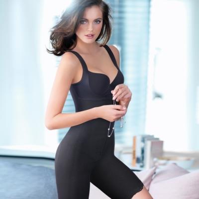 黛安芬-曲線美体衣-經典能量鍺系列-M-EEL-緊緻黑
