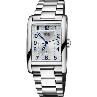 ORIS 豪利時 Rectangular日期機械錶