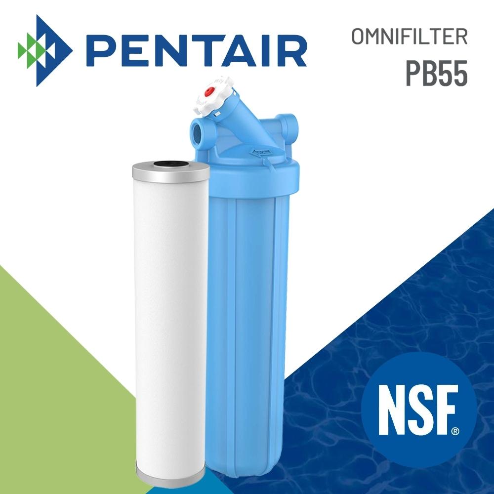 【 Pentair 】專業級 除鉛+囊胞全戶過濾系統 ( PB55 )