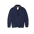 Timberland 男款靛藍色知性翻領水洗外套   A1SEA433