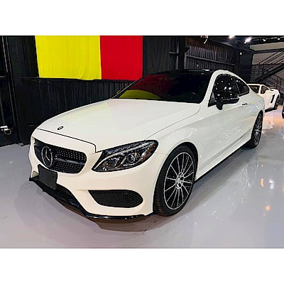 16/17 Mercedes-Benz C300 Coupe AMG(外匯車)